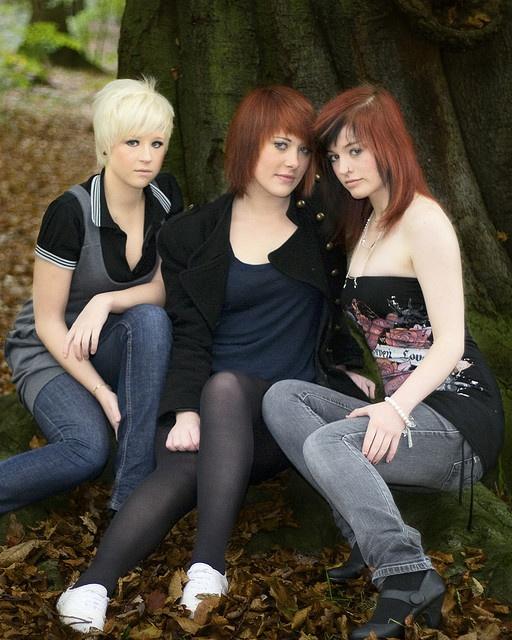 ... #girls #woods