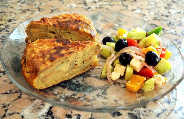 Классический испанский омлет – оригинальный рецепт приготовления на сковороде - http://takioki.ru/omlet-retsept-na-skovorode/