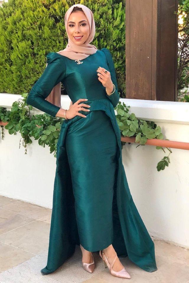 أجمل فساتين سواريه محجبات 2020 وطرق تنسيقها مع مدوني الموضة Dresses Pakistani Dresses Fashion