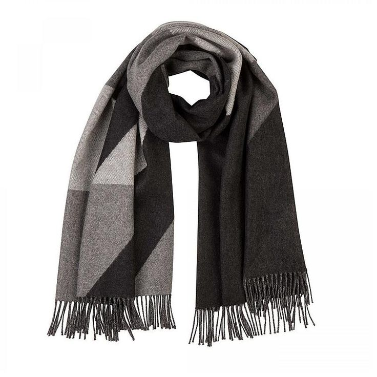 Cashmere Scarf, Houndstooth