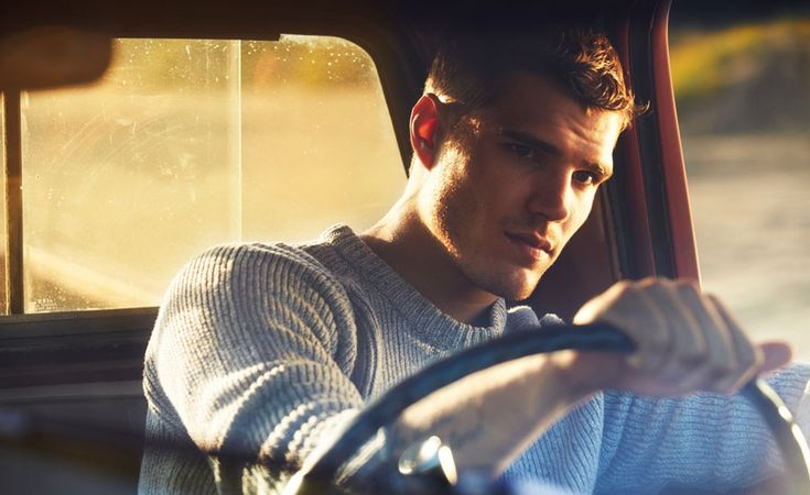 Mr Chris Zylka | The Look | The Journal | MR PORTER -- Oh yeah, the sweater by Our Legacy.