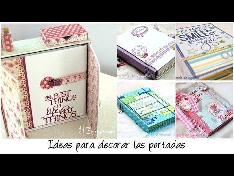 TIP - Ideas para decorar nuestras portadas - YouTube