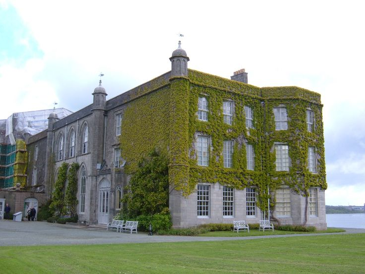Plas Newydd in North Wales on the island of Anglesey - a truly beautiful stately home