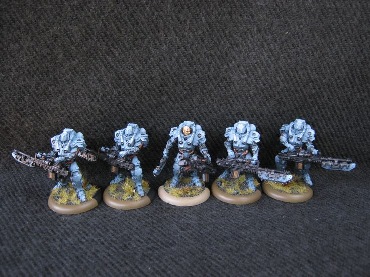 Warzone Resurrection Capitol Heavy Infantry