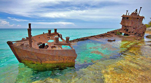 Gallant Lady Shipwreck, Bahamas