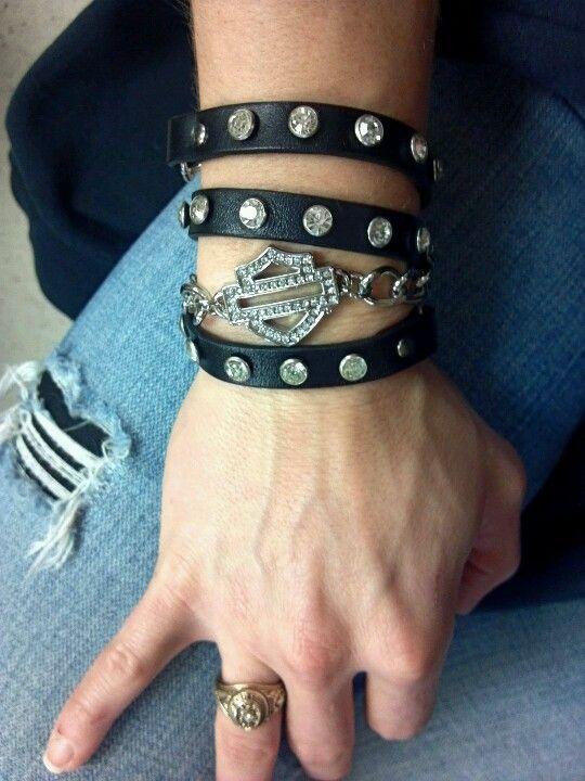 Women's cuff wrap bracelet #HDNaughtyList