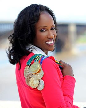 Jackie Joyner-Kersee proved herself to be one of the greatest athletes of all time by winning three gold medals, one silver medal, and two bronze medals in heptathalon and long jump in the 80s and 90s.