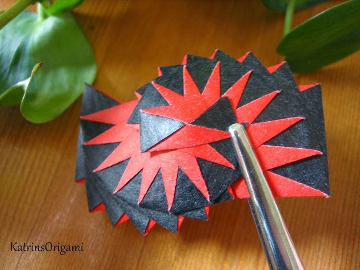 Origami Curlicue Paper Tutorial Origami Handmade