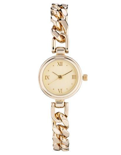 Złoty zegarek ASOS