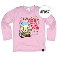 Kaos Afrakids AF057 - Doa Before You Eat