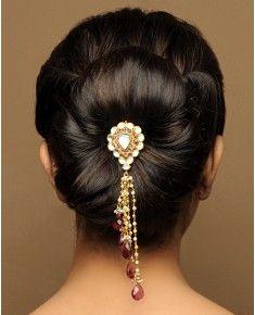jewel hair accessory. So pretty