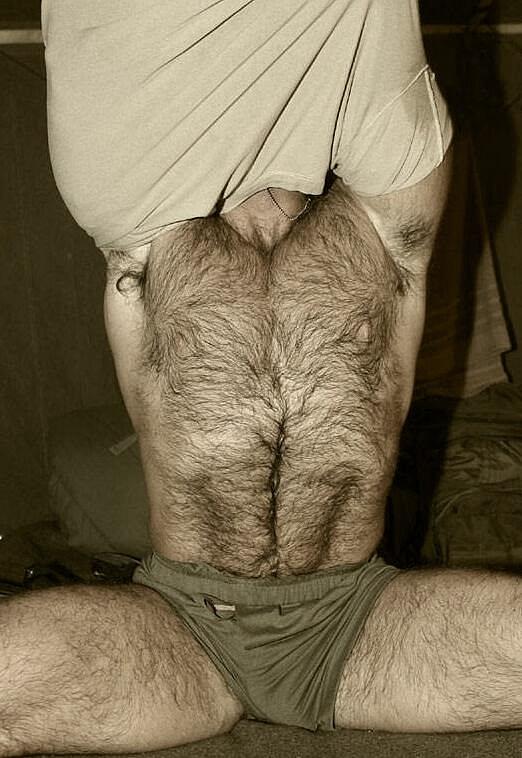 Hairy Thighs Fetish