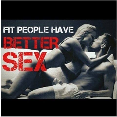 Fit people have better sex!