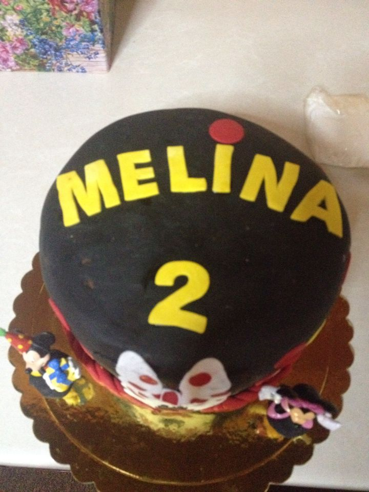 Melina's birthday cake