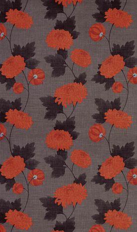 Osborne & Littles Boheme Collection - Wilde Chrysanthemum (colourway - F5440/4) Spring 2005