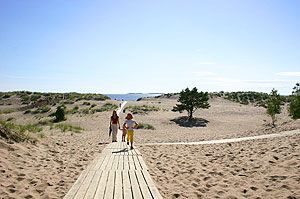 The vast dunes that surround Yyteri beach are unique for this part of the world, Pori, Finland ~