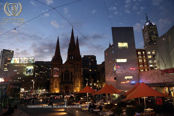 Fed Square at night http://chicvoyageproductions.com/travel-photos-for-sale-melbourne/