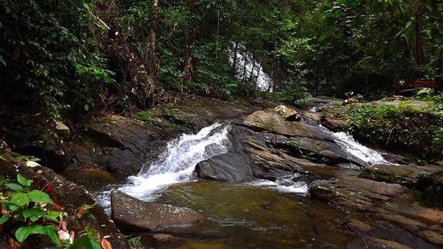 Ton Chong Fa Waterfall, Thailand