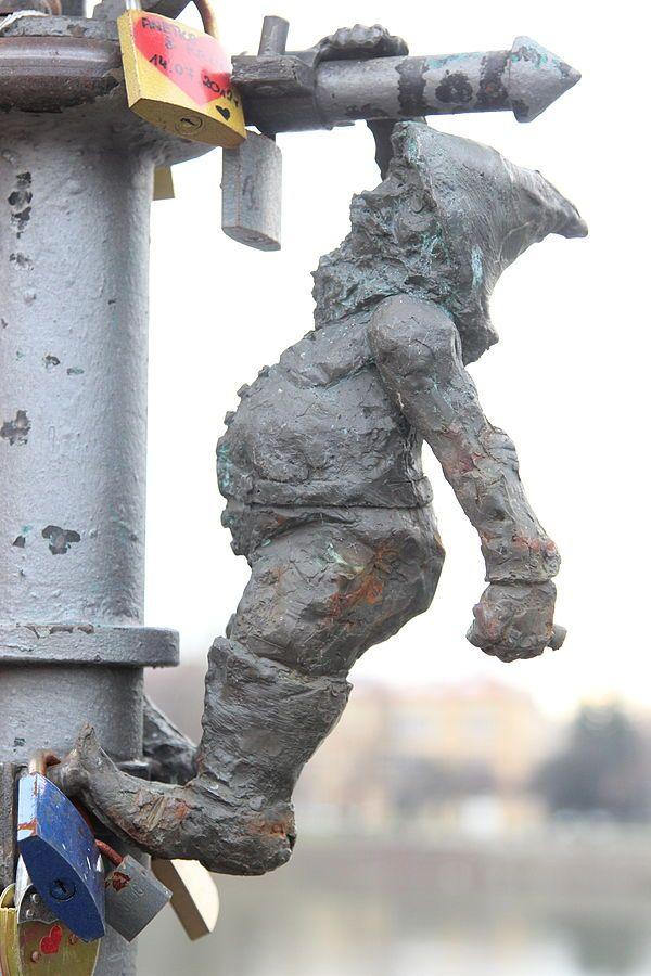 Gazuś [Lamplighter], Most Tumski, latarnia gazowa nr 4; autor: Tomasz Moczek