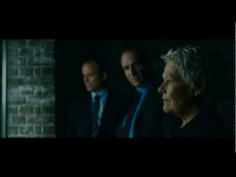Skyfall. Directed by Sam Mendes. Cast: Daniel Craig, Javier Bardem, Judi Dench, Ralph Fiennes, Albert Finney.