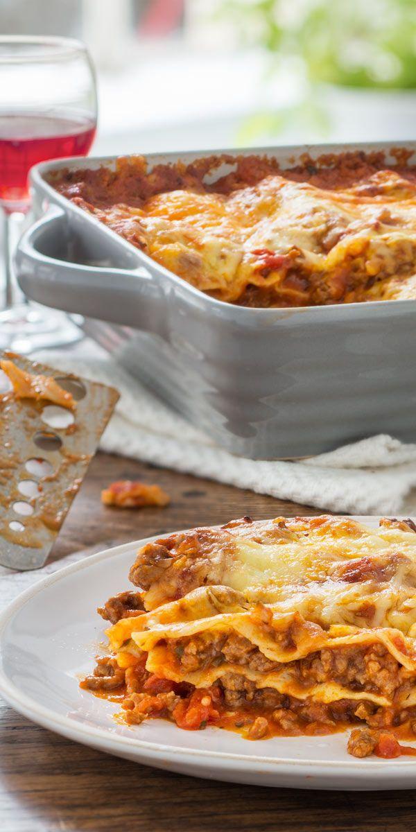 Ein Original, das niemals langweilig schmeckt -  Die gute alte Lasagne-Bolognese kann wirklich immer aufgetischt werden.