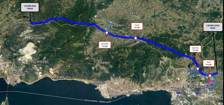 KESİM-5 (LİMAN - İZMİT) | Kuzey Marmara Otoyolu (KMO)