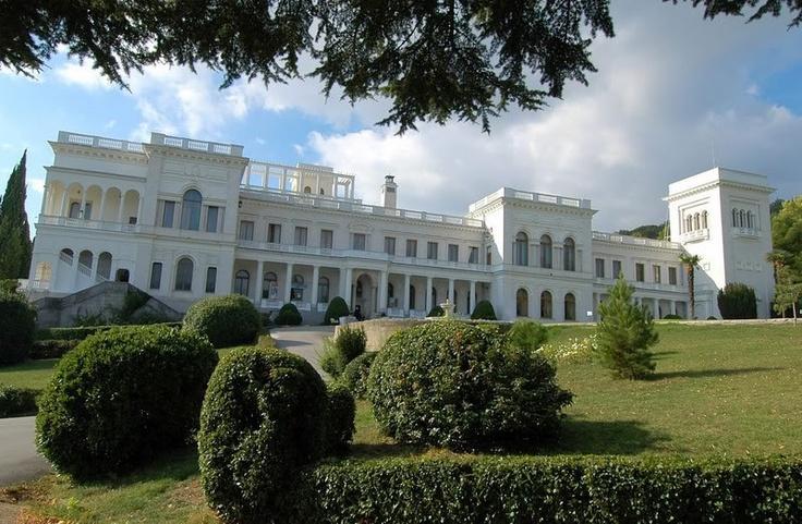 Romanov Palace in Russia
