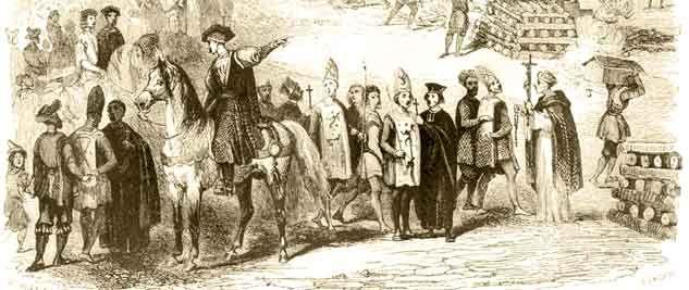 Las Penas en la Inquisición española