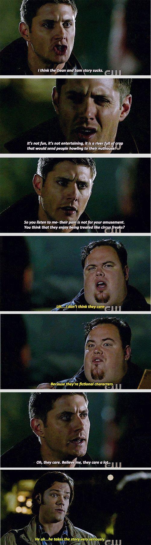Dean is us.