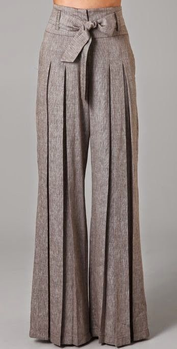 how to wear vintage: wide legs, high waist trousers (pantaloni palazzo a vita alta) ~ PAOLASOPHIA