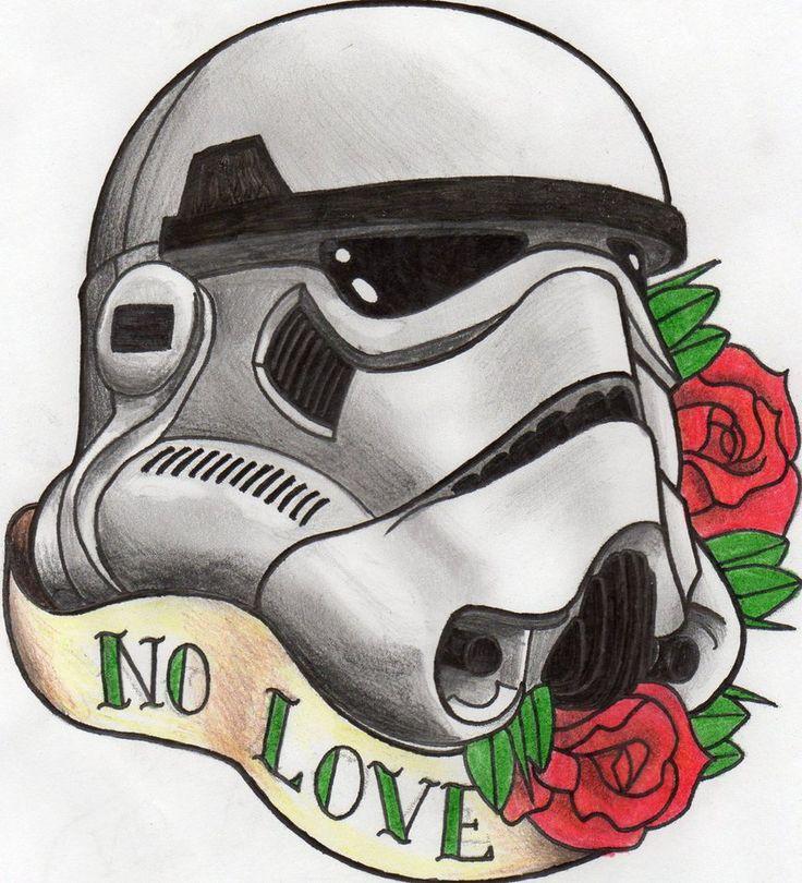 Storm Trooper Helmet Sugar Skull