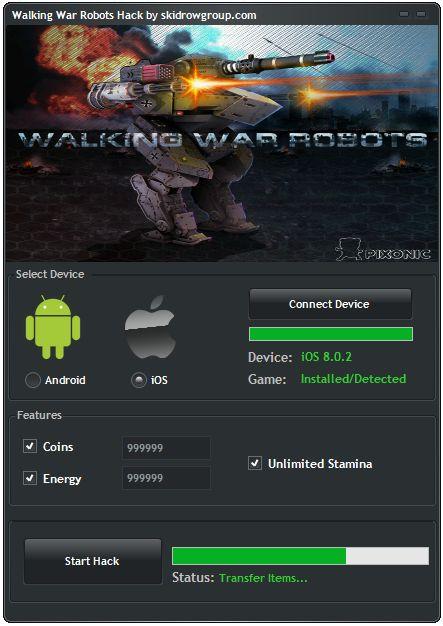 Download Walking War Robots Hack 2016. Download crack for Walking War Robots…