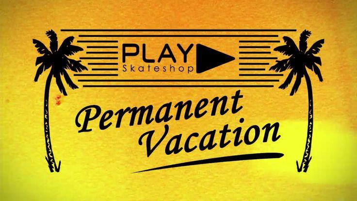 Parce que le skateboard nous suit toute l'année, la vidéo de skate PERMANENT VACATION représente cette continuité de plaisir à skater et à partager notre passion avec vous au shop !