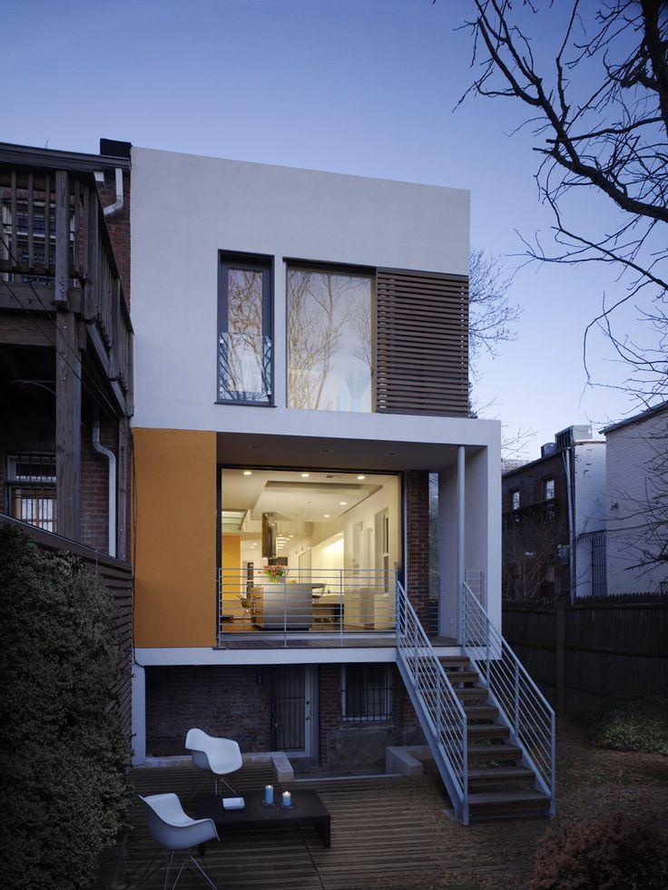 16 Row House Interior Design Ideas: 48 Best Row House Exterior Images On Pinterest