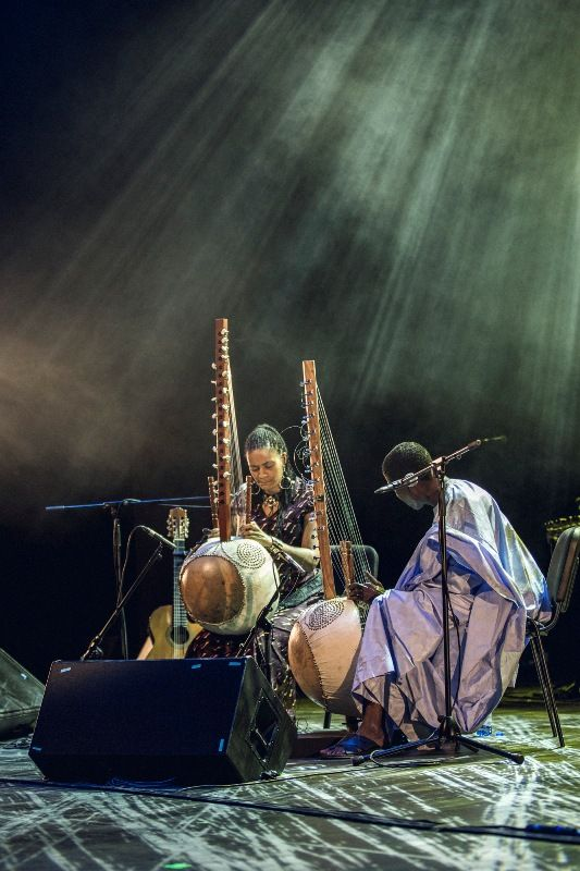 Sona Jobarteh - concert in Polski Theatre   Brave Festival 2015 Griot, phot. Mateusz Bral