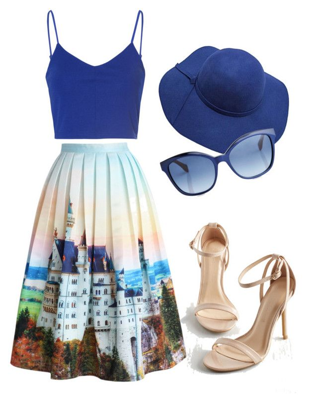 """Navy Blue "" by andreea-sydney on Polyvore"