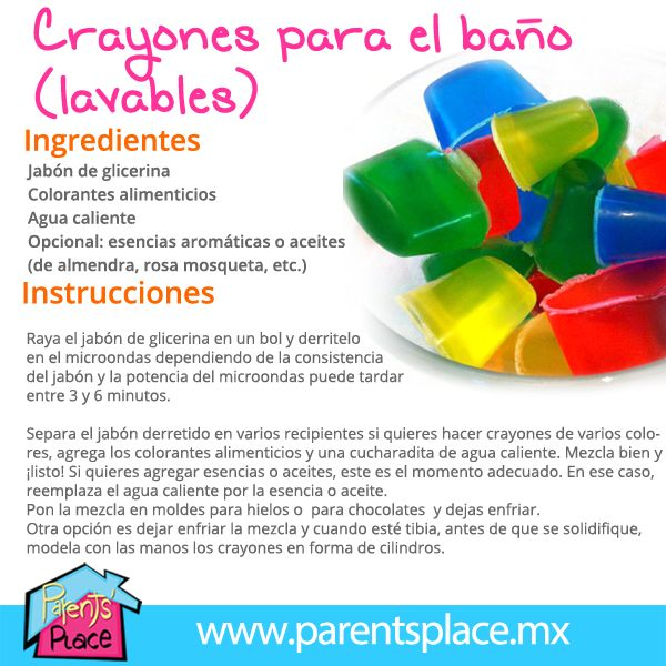 Parents' Place - Crayones lavables para la bañera
