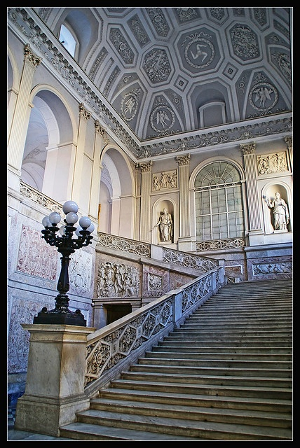 Palazzo Reale, Naples by Megara Liancourt, Naples, Italy, province if Naples…