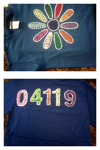 Girl Scout Daisy Shirts - DIY
