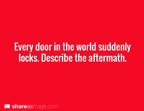 Some doors don't even have locks and yet they even lock too. Everyone in each room must use what's in the room with them to save themselves and help the others too.