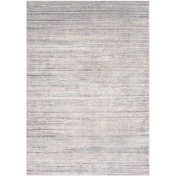 Bridgeton Abstract Gray Sleek Area Rug