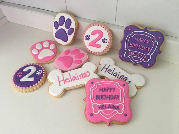 Paw Patrol Cookies - 1 dozen #pawpatrol #cookies