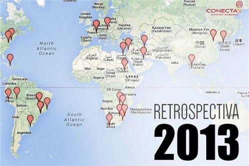 O mundo em 2013
