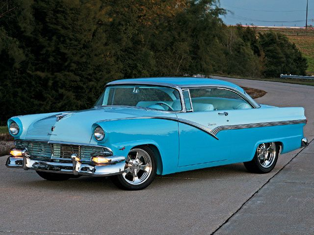 Bernie Hecks 1956 Ford Victoria  - Rod and Custom Magazine...For the best in car care products, click here: http://johnbellblog.com