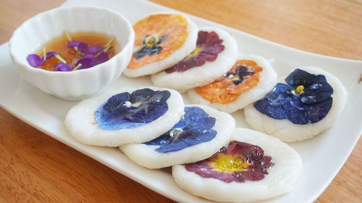 Flower Rice Cake 화전 (Hwajeon) | SweetHailey