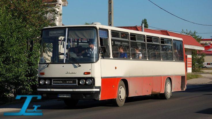 Ikarus 256 (256.50V)   KOX-391   Rába D10   Vértes Volán (hangfelvétel /...