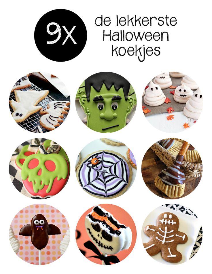 Koekjes bakken is altijd leuk (en lekker), maar koekjes bakken voor Halloween wordt met deze verrassende recepten voor Halloween koekjes nog leuker. Of je nu visite verwacht of niet, deze staan toch super leuk op tafel tijdens Halloween?