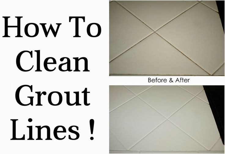 Diy Projects: How To Clean Grout Lines