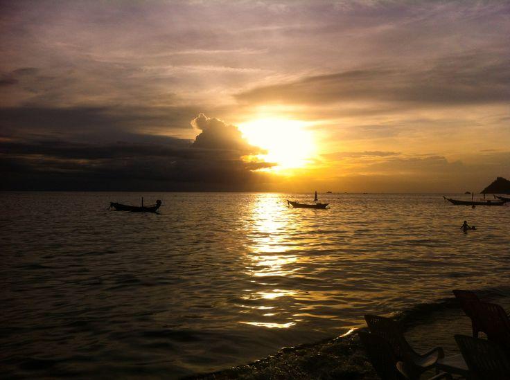 #sunset #thailand #kohtao