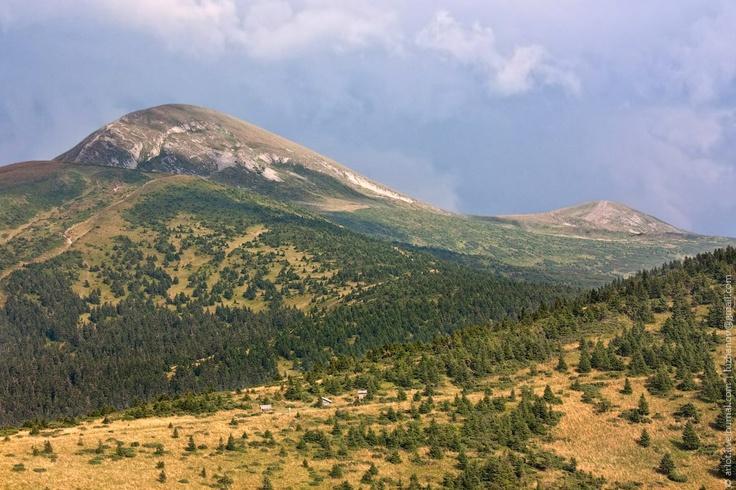 Hoverla and a part of Chornogora ridge / Говерла и часть Черногорского хребта, Карпаты